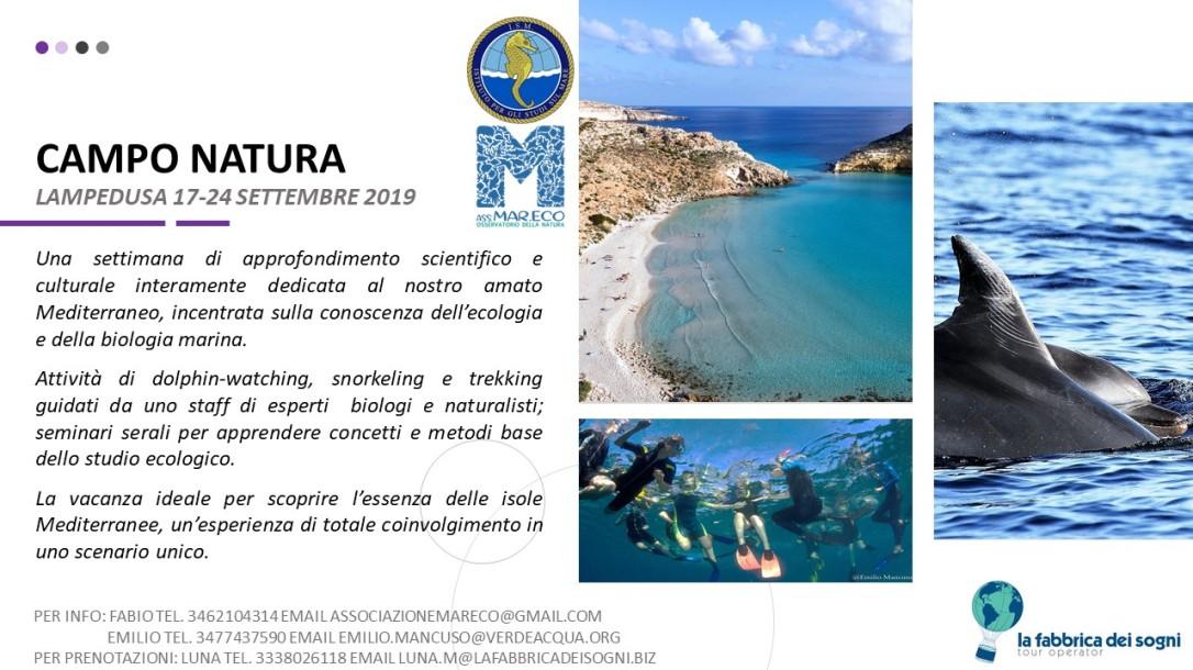 Cartolina Campo Natura 17-24 settembre